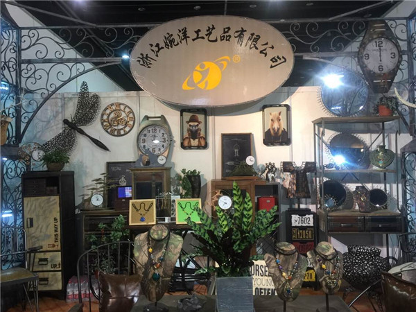 婉洋工艺参加第22届义乌国际小商品博览会