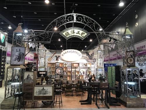 铁艺厂家婉洋工艺参加第23届义乌国际小商品博览会