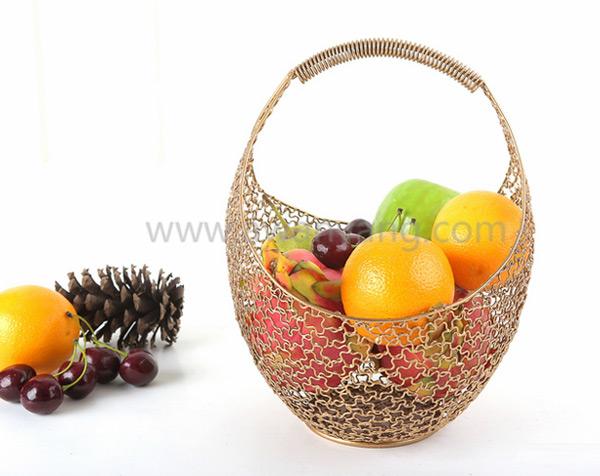 铁线蔬菜水果篮