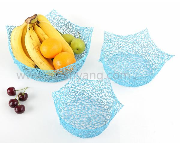铁线水果收纳篮