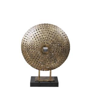 铜钱金属酒店餐厅摆件展示架