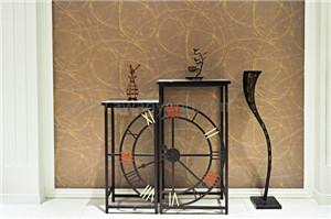 酒店挂钟型桌椅展示架