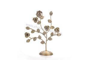铁树造型花式耳环展示架厂家