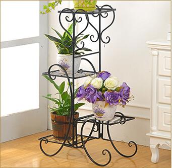 欧式铁艺花架