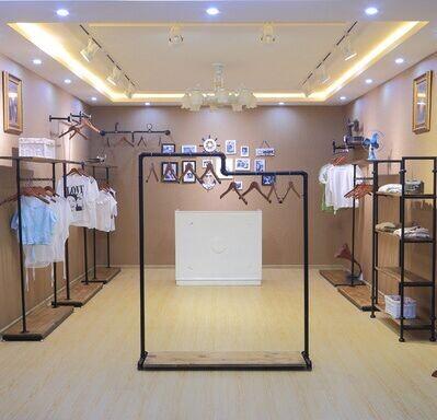 服装店服装展示架