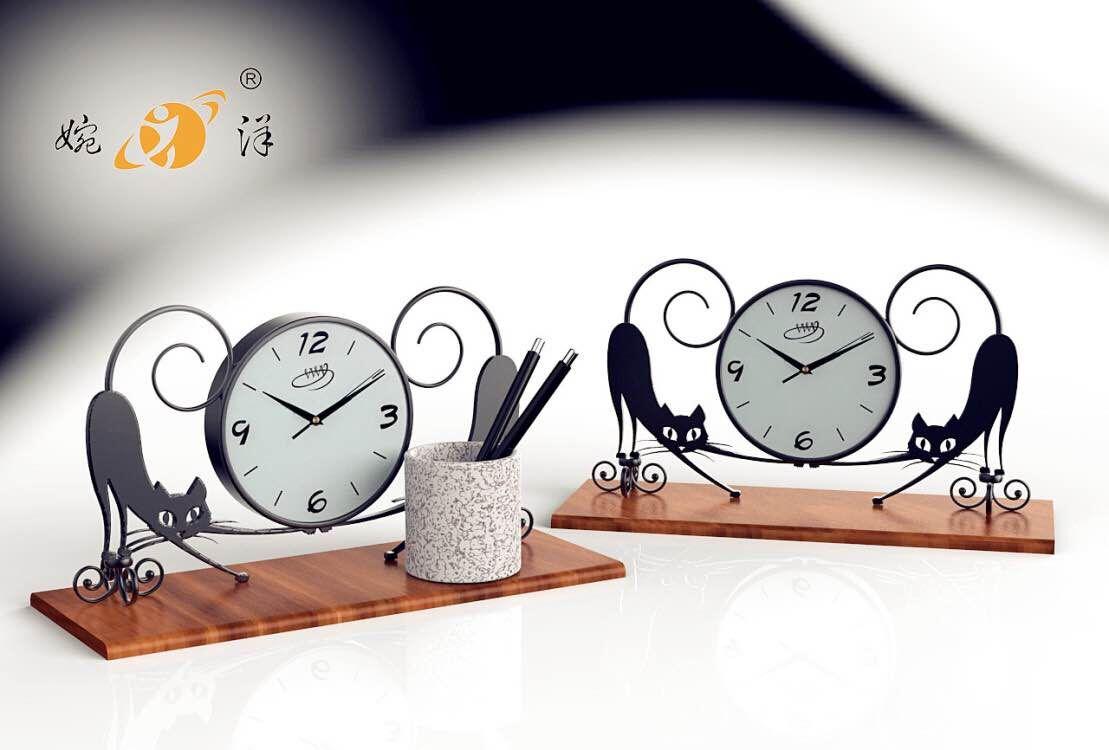 动物造型钟表