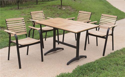 铁木组合餐桌
