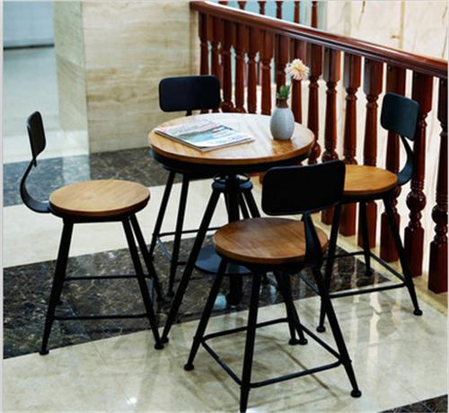 美式铁艺圆桌