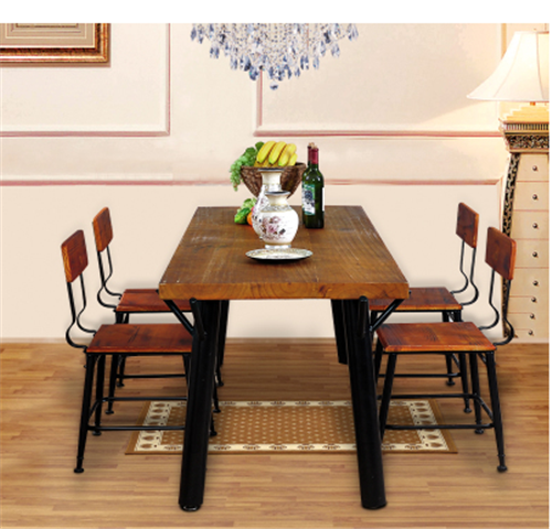 古典中式铁木餐桌