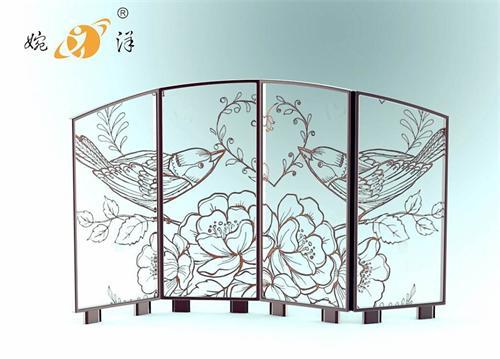 中式铁艺屏风厂家