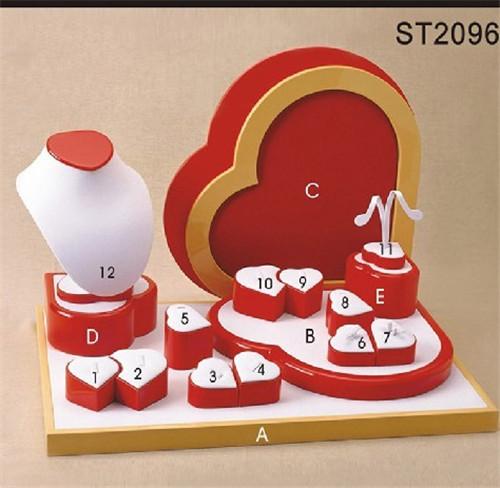 心形饰品展示道具18