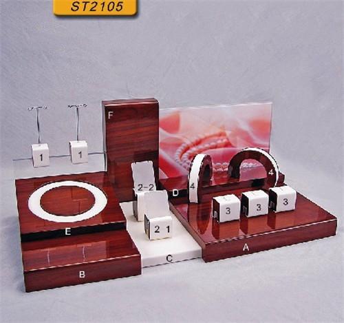 木艺珠宝展示道具