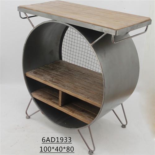 复古铁木组合柜