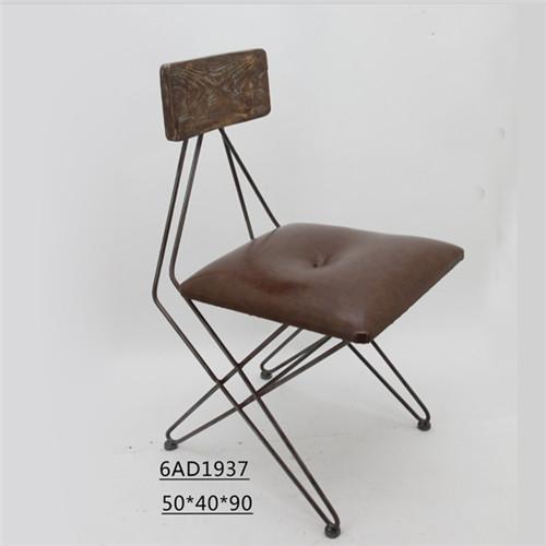 美式铁艺休闲椅