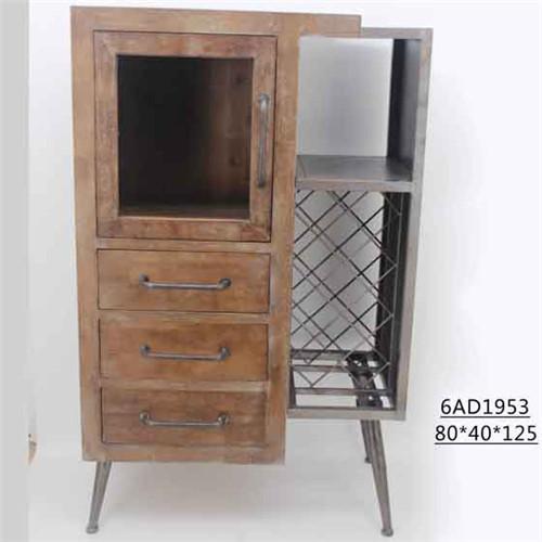 美式复古酒柜