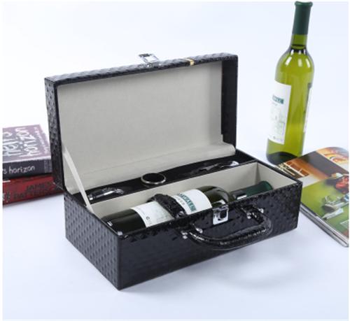 高档皮质酒盒