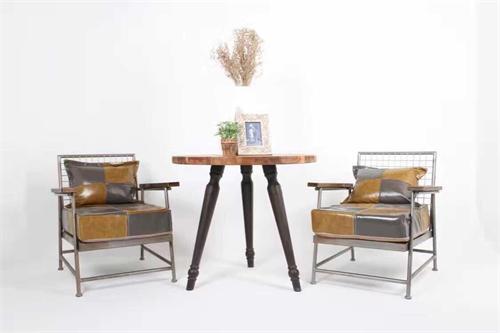 铁木休闲桌椅