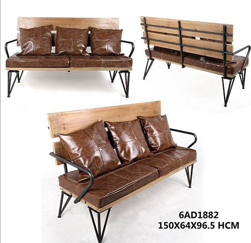 美式工业风沙发