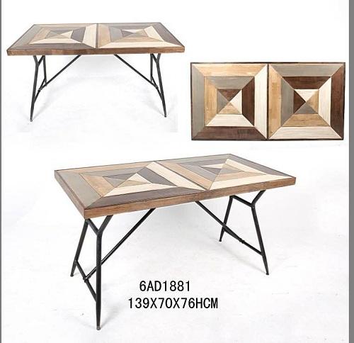 美式工业风桌子